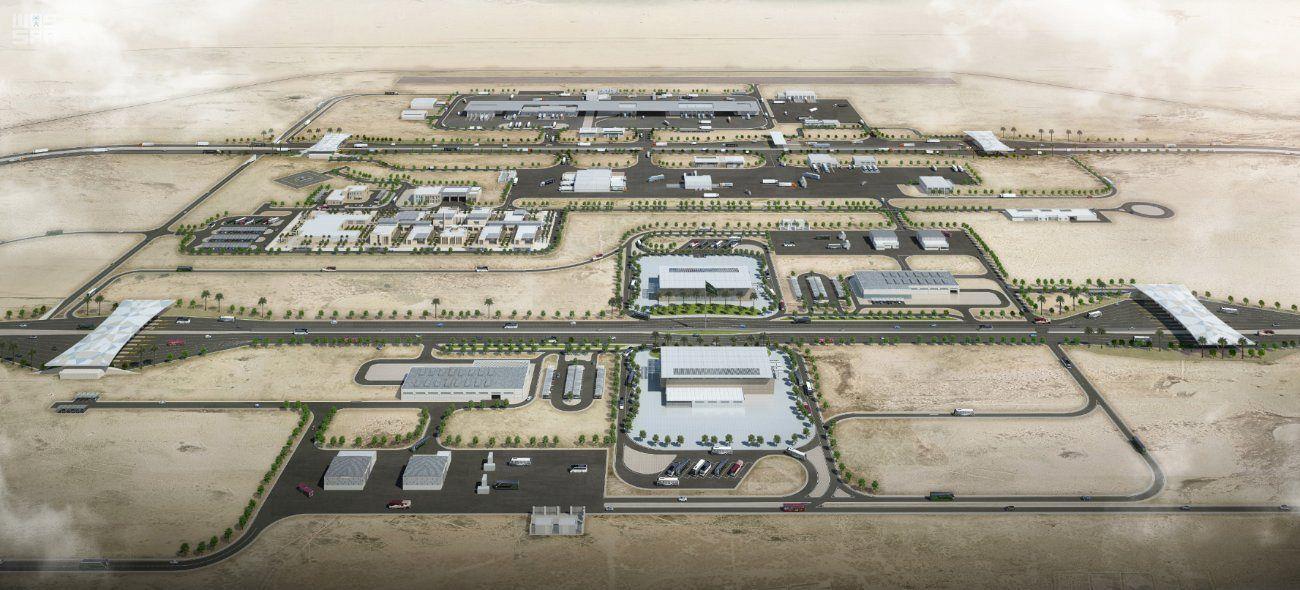 توقيع عقد ترسية تصميم مشروع منفذ البطحاء الجديد على مساحة 600 ألف متر مربع