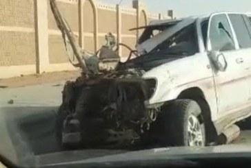 """""""أمانة الرياض"""" توضح حقيقة الفيديو المتداول لحادث على الدائري الثاني بسبب هبوط الأسفلت"""