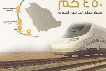 """""""قطار الحرمين"""" يعلن جدول رحلات شهر ديسمبر"""