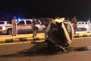 وفاة شخص وإصابة 4 في حادِث مروري مروع بحسينية مكة