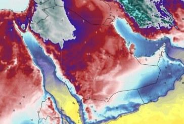 """""""الحصيني"""": يُتوقع دخول موجة برد سادسة على عدة مناطق منها الرياض وهذه مدتها"""