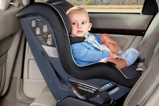 """""""المرور"""": عدم استخدام مقاعد الأمان المخصصة للأطفال مخالفة وهذه غرامتها"""