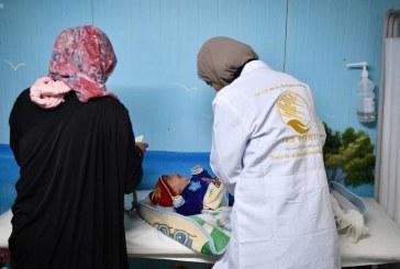 المملكة تبدأ حملات طبية وتعليمية في مخيم الزعتري للاجئين السوريين