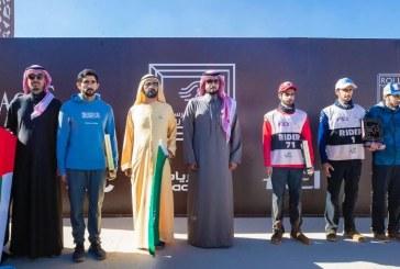 ولي عهد دبي يتوج بكأس خادم الحرمين للقدرة والتحمل بحضور محمد بن راشد (صور)