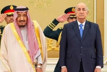 خادم الحرمين يعقد جلسة مباحثات مع الرئيس الجزائري ويقيم مأدبة غداء تكريماً له (صور)