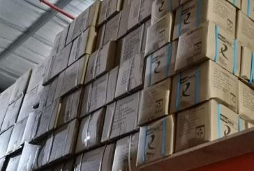"""""""التجارة"""" تضبط منشأة تخزن كميات كبيرة من الكمامات بغرض بيعها لاحقاً"""