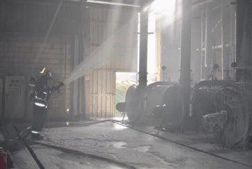صور.. إخماد حريق في مصنع أخشاب بالرياض