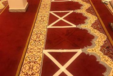 صور متداولة لعلامات الوقوف للمصلين بالمساجد لضمان التباعد الاجتماعي