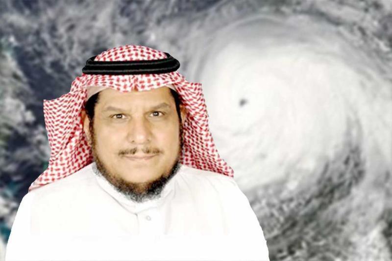 """""""الحصيني"""": أمطار وتقلبات جوية خلال أيام العيد تشمل عدة مناطق بالمملكة"""