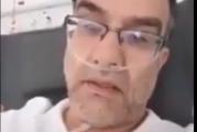 فيديو مؤثر لطبيب عراقي أصيب بـ