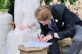 صور.. عقد قران أخت ملك الأردن على صحفي بريطاني بدون مراسم ملكية