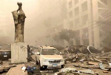 أضرار ضخمة خلّفها انفجار بيروت حتى بُعد 5 كيلومترات من موقعه