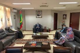 سفير المملكة لدي موريتانيا يلتقي بوزير الخارجية الموريتاني