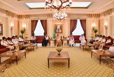 الأمير مشعل بن ماجد يستقبل كشافة التعليم المشاركين بخدمة ضيوف الرحمن