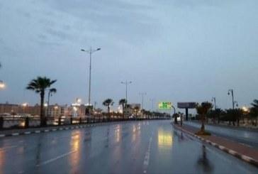 """""""طقس الثلاثاء"""": توقعات باستمرار هطول الأمطار على 6 مناطق"""