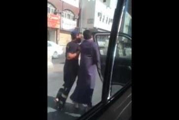 """""""الدفاع المدني"""" يعلق على فيديو تعامل أحد أفراده بشكل غير لائق مع سائق حافلة"""