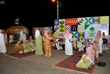 إقامة أولى فعاليات اليوم الوطني بطريق الأمير سلطان في عرعر