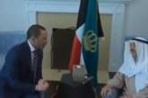 أمير الكويت لرئيس مجلس الأمة: سلّم لي على كل كويتي وكويتية (فيديو)