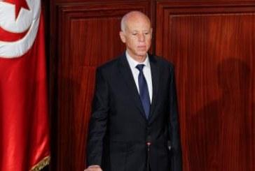 قيس سعيّد يؤدي اليمين الدستورية ويتسلم مهام رئاسة تونس