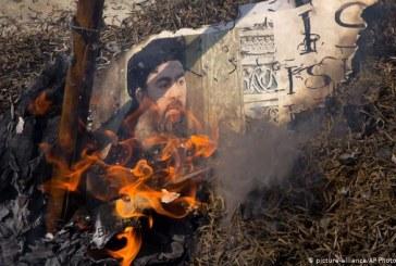 """شاهد.. حطام المنزل الذي قُتل فيه زعيم """"داعـش"""" أبو بكر البغدادي"""