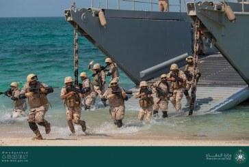 """صور.. اختتام التمرين البحري الثنائي المختلط """"جسر – 20"""" والتمرين البحري المسنود """"أمواج – 4"""""""