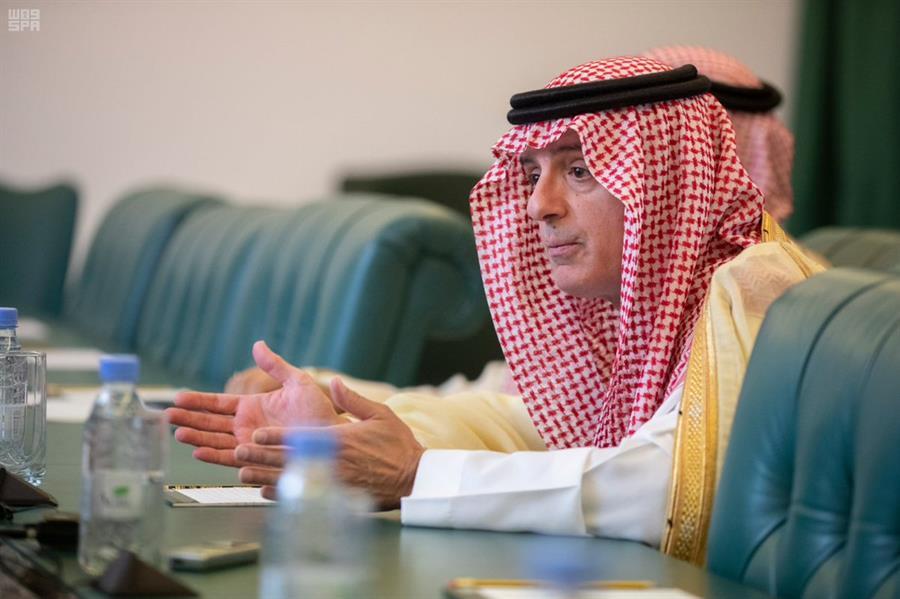 """""""الجبير"""" يرد على مزاعم ضلوع المملكة في حـادث ناقلة النفط الإيرانية"""