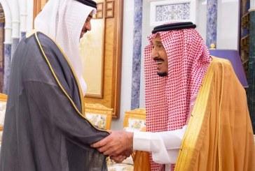 صور.. خادم الحرمين يتسلم رسالة من أمير دولة الكويت