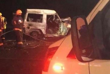 مصرع 5 أشخاص بينهم 4 من أسرة واحدة في حـادث مؤسف بين مركبتين بالمدينة
