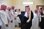 صور.. نائب أمير جازان ينقل تعازي القيادة لوالد وذوي الشهيد دغريري