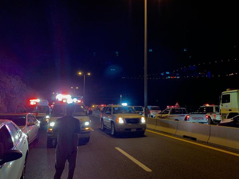 حـادث سير في جبل الكر بالهدا والجهات المختصة تباشر (صور)