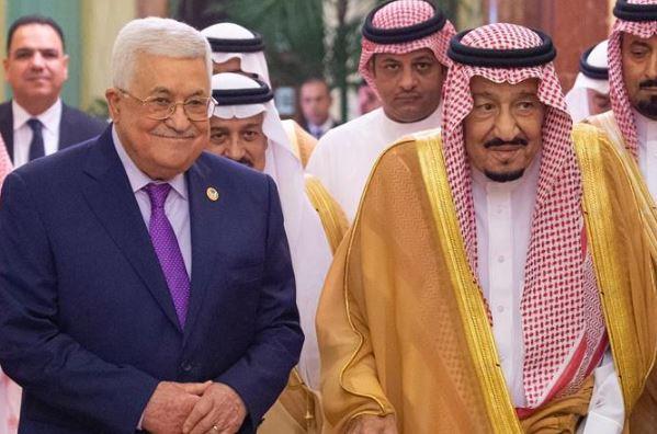 خادم الحرمين الشريفين يستقبل الرئيس الفلسطيني ويعقد جلسة مباحثات معه