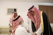 الأمير سعود بن جلوي يعزّي ذوي الشهيد القرني