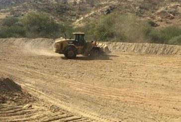 إيقاف تعديات على أراضٍ حكومية بمساحة 100 ألف متر في المجاردة