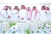 """""""وزير الإسكان"""" يتفقد تنفيذ أكثر من 4 آلاف وحدة سكنية بالمدينة ويشّدد على سرعة الإنجاز"""