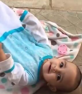 جمعية خيرية تحتضن طفلة مجهولة الأبوين بعد تداول فيديو العثور عليها