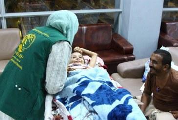 نقل المصابين اليمنيين في أحداث عدن وأبين إلى المملكة لتلقي العلاج (صور)