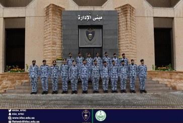 بالصور.. ترقية عددٍ من ضباط كلية الملك فهد الأمنية
