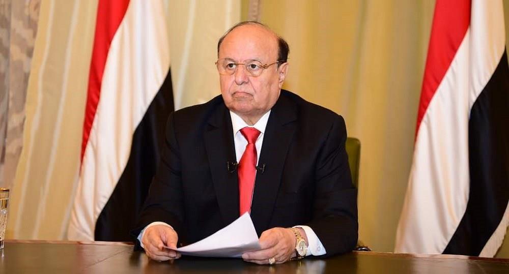 الرئيس اليمني يثمن الجهود السعودية للحفاظ على وحدة اليمن