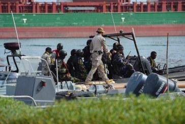 """فيديو وصور.. استمرار مناورات التمرين البحري متعدد الجنسيات """"IMX 19"""" بمشاركة قوات سعودية"""