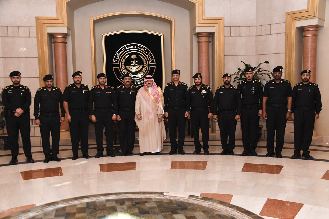 الأمير مشعل بن ماجد يستقبل مدير إدارة دوريات الأمن بجدة