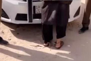 فيديو.. لحظة القبض على السائق الهارب بعد دهس طفلة الحافلة المدرسية بالرياض