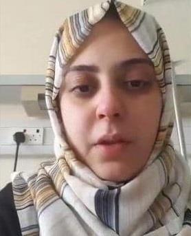 شاهد.. فتاة مصرية مصابة بـ