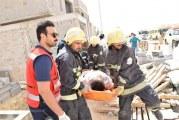 وفاة شخص وإصابة 5 آخرين جراء انهيار جدار فيلا تحت الإنشاء في الرياض
