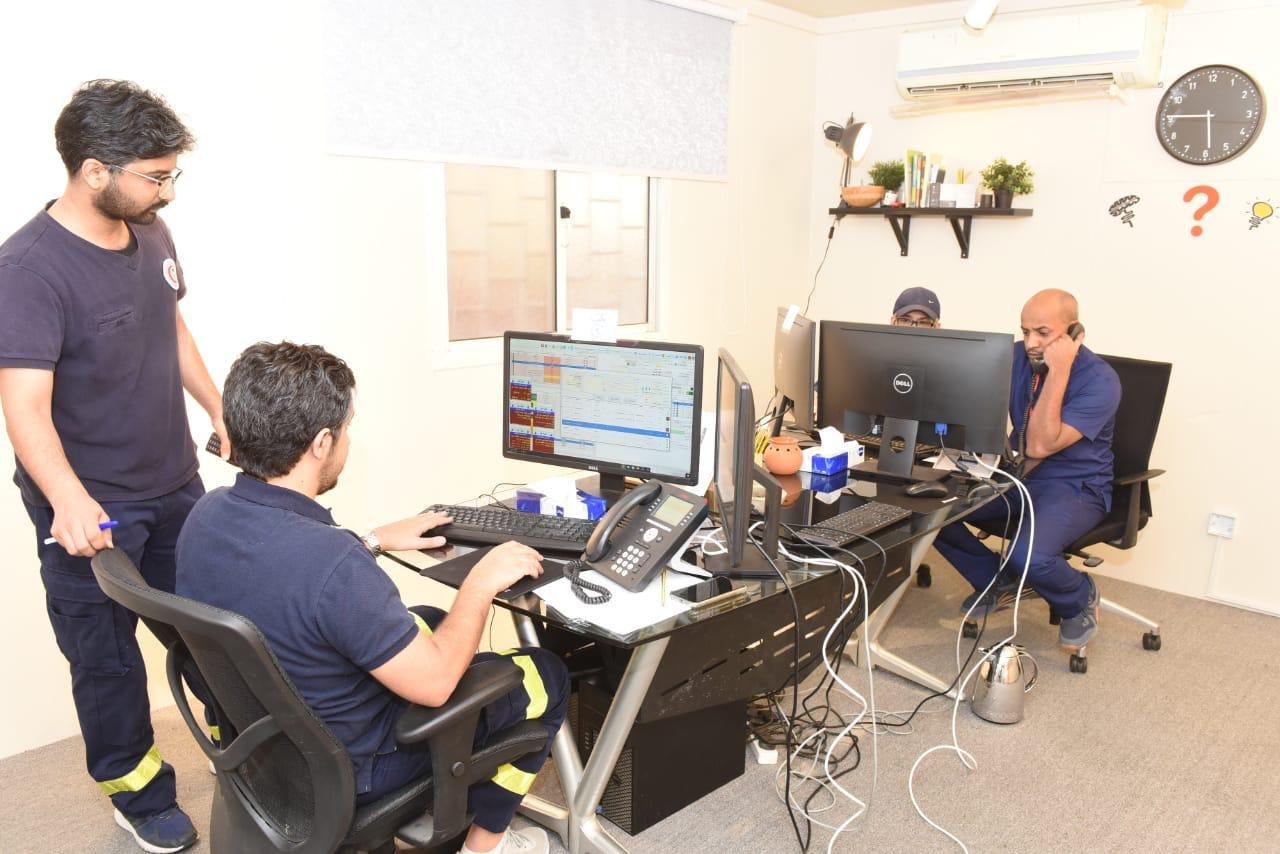 ٤٥ فرقة إسعافية يجهزها الهلال الاحمر بجدة لخدمة المرضى