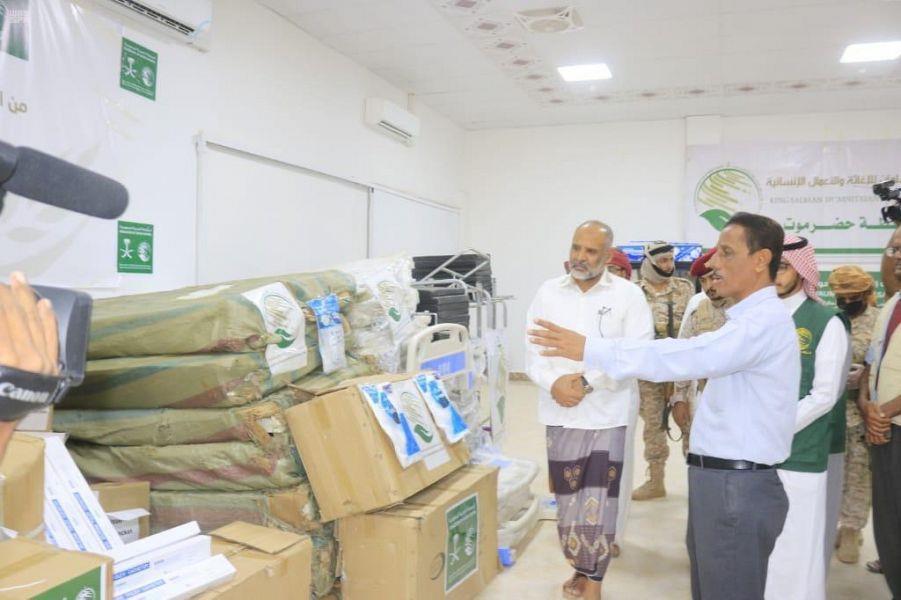 """""""مركز الملك سلمان للإغاثة"""" يدشن الدفعة الأولى من المساعدات الطبية لمواجهة """"كورونا"""" في اليمن (صور)"""