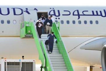 وصول 125 مواطناً إلى مطار حائل قادمين من الأردن