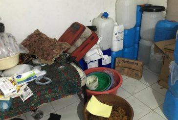 ضبط معسلات مصنعة بمواد قابلة للاشتعال في منزل شعبي بجدة