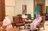 الأمير مشعل بن ماجد يستقبل مدير عام ميناء جدة الإسلامي