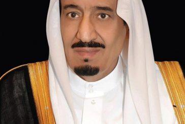 خادم الحرمين يتلقى اتصالات هاتفية من أمير الكويت وملكي الأردن والبحرين