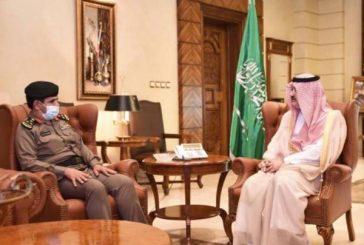 الأمير مشعل بن ماجد يستقبل مدير شرطة جدة